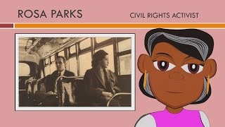 Rosa Parks Story (Educational Videos for Students) Rosa Parks for Kids (Watch Cartoons Online) CN