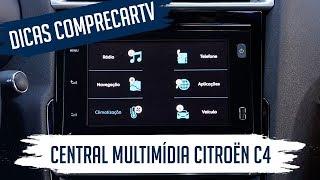Central multimídia Citroën C4 Lounge