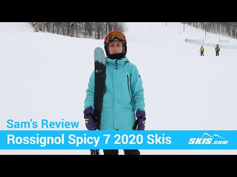 Video: Rossignol Spicy 7 Skis 2020 17 50
