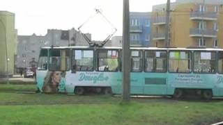 preview picture of video 'Tramwaje Częstochowa 2009'