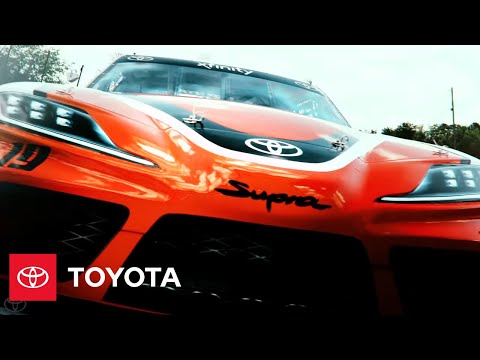 Unveiling Of Supra For 2019 NASCAR Xfinity Series | Toyota Racing