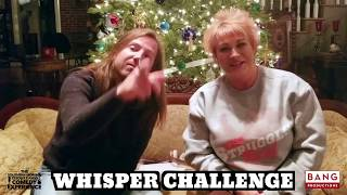 COMEDIANS DARREN KNIGHT & RED SQUIRREL: WHISPER CHALLENGE! LOL FUNNY LAUGH COMEDY