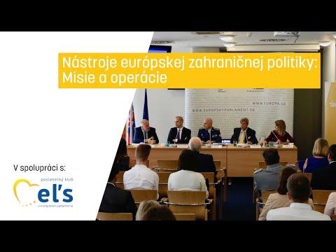 Nástroje európskej zahraničnej politiky: Misie a operácie
