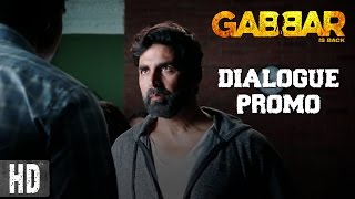 Gabbar Is On A Mission - Dialogue Promo 5 - Gabbar Is Back