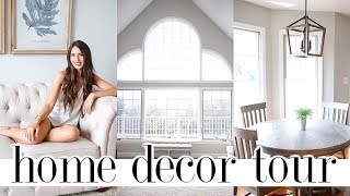 How To Decorate With Neutral Colors | HOME DECOR TOUR