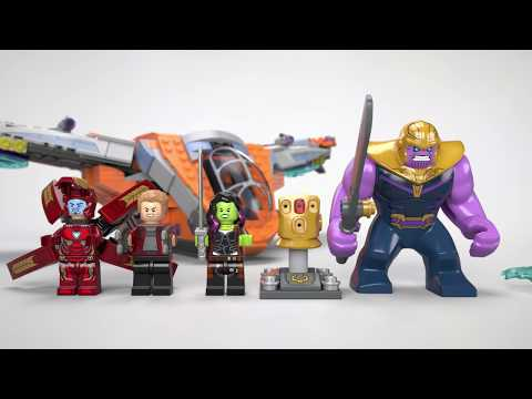 Vidéo LEGO Marvel 76107 : Le combat ultime de Thanos
