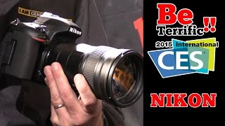 CES 2015: First Look at the NIKON D5500, D750, and 300mm f4!