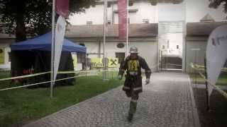 preview picture of video 'Raiffeisen Turmlauf Hall in Tirol 2013'
