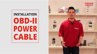 How to power a dash cam with a OBD-II Port