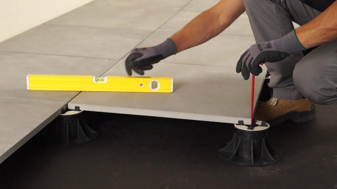 Pavimento flottante cm come fare una posa sopraelevata su piedini