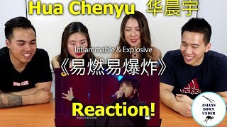 Hua Chenyu 华晨宇   Inflammable Explosive《易燃易爆炸》 | Reaction Video   Aussie Asian 华晨宇  《歌手2018》第8期