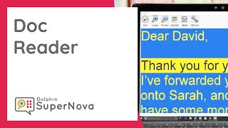 Why Use Doc Reader? For Magnifying Text and Emails