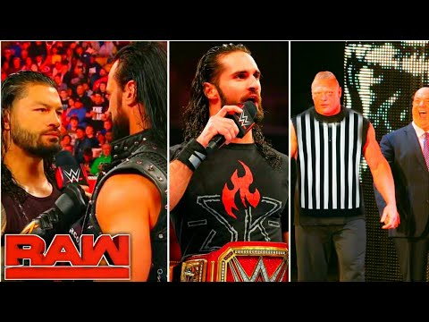 WWE Monday Night Raw- June 17th, 2019 Highlight Preview | Roman reigns | Brock lesnar Results Winner
