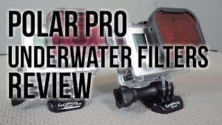Polar Pro Underwater Filters Review