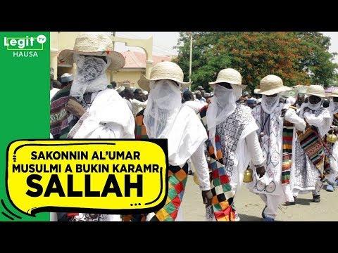 Sakonnin al'umar Musulmi a bukin Sallah karama | Legit TV Hausa