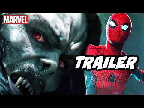 Morbius Trailer - Marvel Spider-Man Scene and Venom Easter Eggs