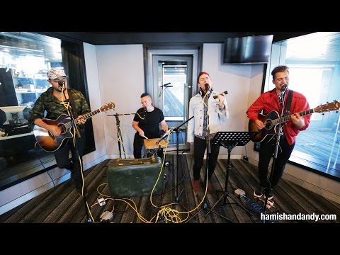 Walk The Moon Shut Up And Dance Acoustic On Hamish Amp Andy