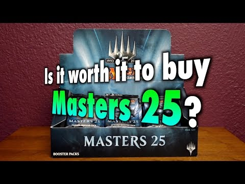 MTG – Is it worth it to buy Masters 25 for Magic: The Gathering?