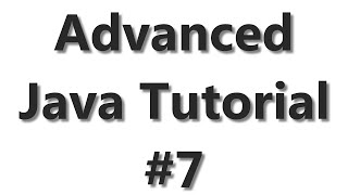 Advanced Java Tutorial #7 - Working with Excel and Apache POI