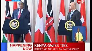 Switzerland President visits Kenya to strengthen ties