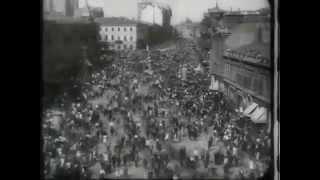 "Крещатик, 1929 год. ""Человек с киноаппаратом""."