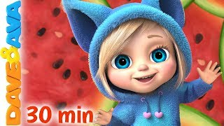 🙌  Finger Family + More Nursery Rhymes & Kids Songs by Dave and Ava 🙌