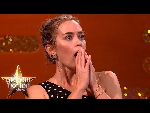 Emily Blunt o Mary Poppins a Ben Whishaw v reklamě - The Graham Norton Show