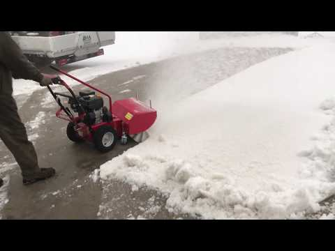 PROSYNT MTD - Spazzolatrice per neve - spazzola per rimozione neve