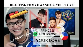[REACTION] TRIVIA! Story Behind PRINCESS HOURS OST -Your Love By Nasser | #JANGReacts