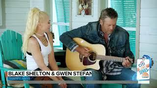 Blake Shelton And Gwen Stefani Perform Their New Duet Happy Anywhere