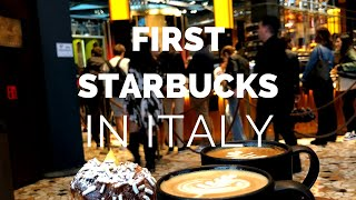 VIDEO! Insider's Look | Starbucks in Milan