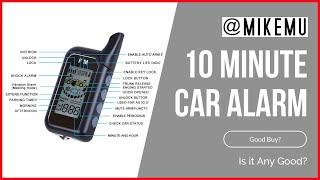 Is a DIY, No Install Car Alarm Any Good?
