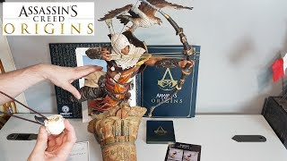 UNBOXING ASSASSIN'S CREED ORIGINS collector edition 800$