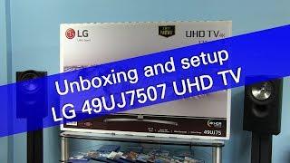 Телевизор LG 49UJ7507 IPS 4K Edge UHD 3840 × 2160, Активный HDR с Dolby Vision, SmartTV WebOS 3.5, DVB—T2/C/S2 от компании Telemaniya - видео