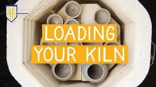 LOADING YOUR CERAMICS KILN FOR BEGINNERS  // AMACO Classroom Kiln Basics