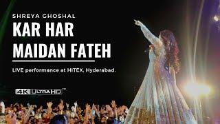 Kar Har Maidan Fateh   Sanju | Shreya Ghoshal LIVE Performance