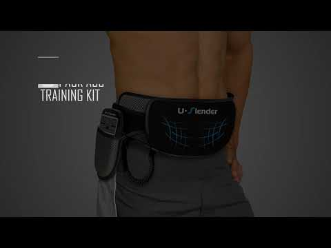 U-Slender by LifeShop - Core Trainer Belt for Abdominal Muscles Latest Muscle Flex Technology