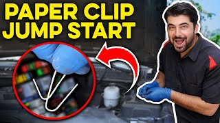 How to Start a Car With a Paper Clip - NOT A HOAX