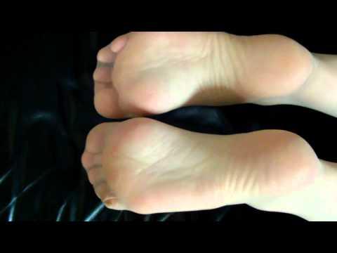 soles in sheer nylons