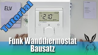 Homematic Funk-Wandthermostat Bausatz