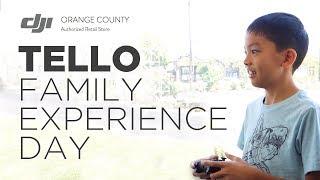 TELLO Family Experience Day at DJI Orange County