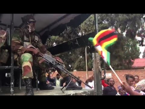 Harare demo calls on Mugabe to quit