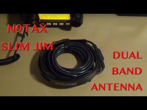 Antena OSJ bibanda VHFUHF Ham Radio YV Ham radio