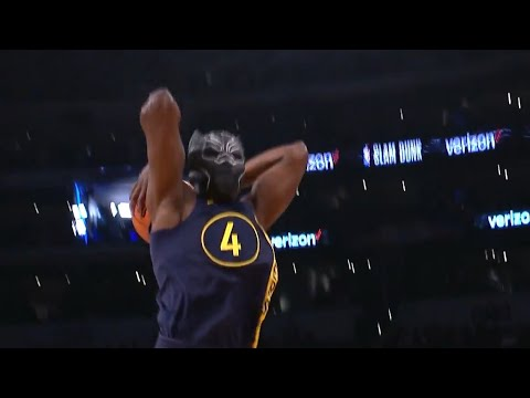 Victor Oladipo Black Panther Mask Dunk