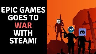 Epic Games (Fortnite) Takes On Steam!