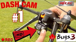 Best Budget Camera For a Drone? MJX Bugs 3 Dash Cam Mod Testing