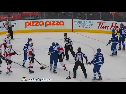 Colin Greening vs. Dion Phaneuf