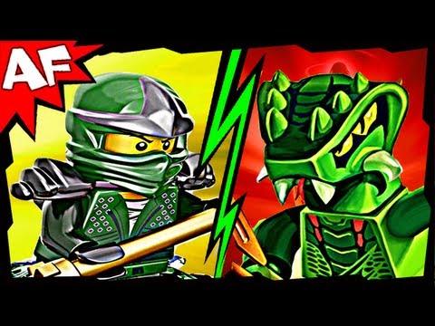 Vidéo LEGO Ninjago 9557 : Lizaru