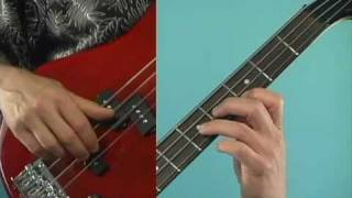 Bass Guitar Lesson: Easy Blues Line