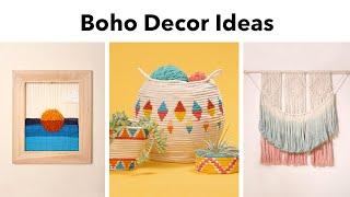3 Boho Decor Ideas DIY